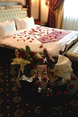 Номер для молодоженов в Москве - свадебное - Космос